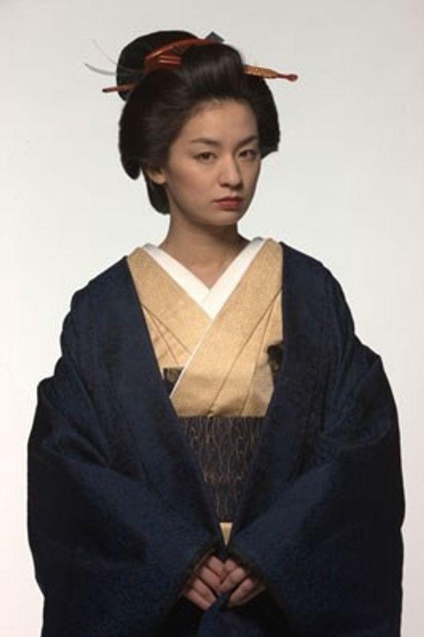 徳川綱吉の腹心、柳沢吉保を熱演した尾野真千子