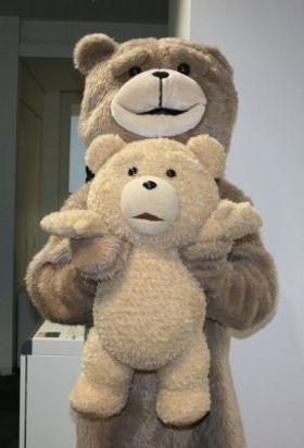 テッド、見た目の人気はどこでも絶好調!しかし、おっさんテッドは人気出ず!?