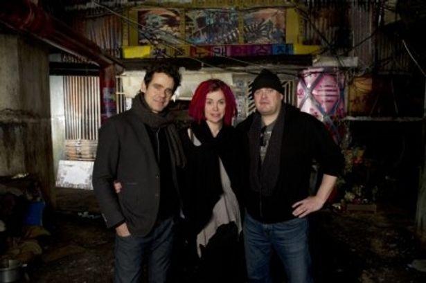 脚本・監督を共同で務めたトム・ティクヴァ、ラナ&アンディ・ウォシャウスキー