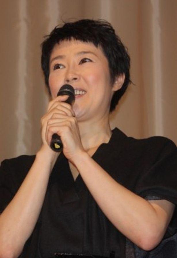 若松孝二監督の遺作『千年の愉楽』の舞台挨拶で寺島しのぶらが登壇