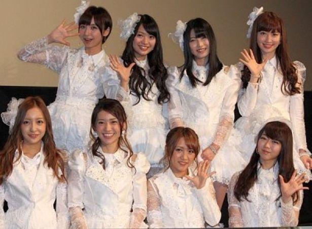 AKB48の新たなドキュメンタリー作品の完成披露プレミア試写会が開催
