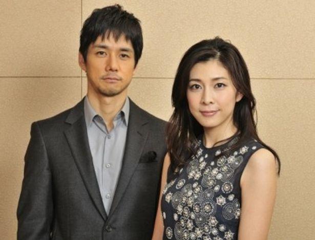 『ストロベリーナイト』で共演の竹内結子と西島秀俊を直撃!