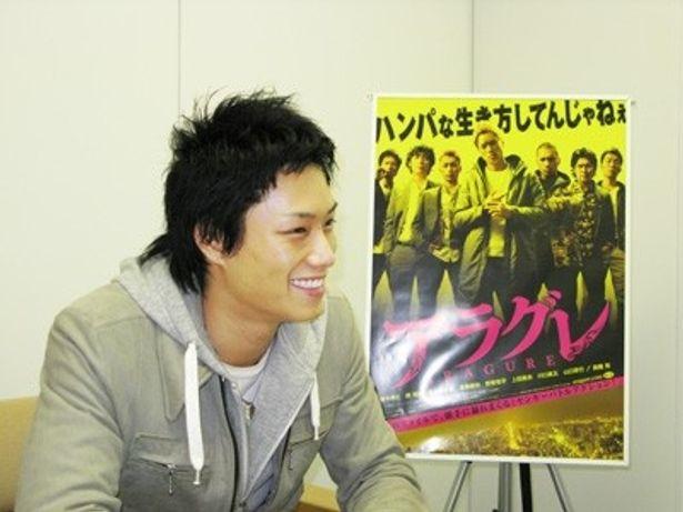 「劇団EXILE」の注目株・鈴木伸之が映画「アラグレ」で初主演を果たした