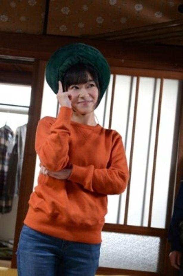 アイドル槇原莉乃役でゲスト出演するHKT48の指原莉乃