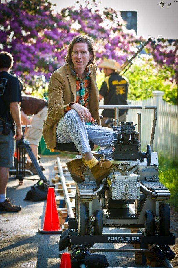 映画作りにおいて「僕は恵まれている」と話すウェス・アンダーソン監督