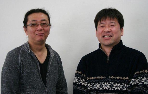 名コンビ!亀井亨監督と佐藤二朗