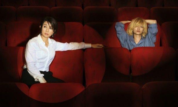 超年の差カップルを演じた秋吉久美子と染谷将太