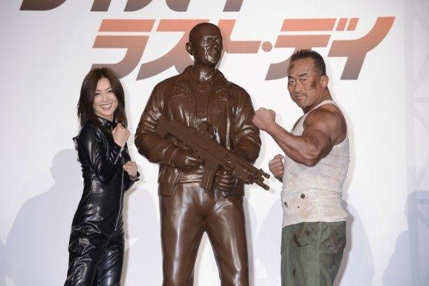 イベントには酒井法子、角田信朗、野沢聡が登壇