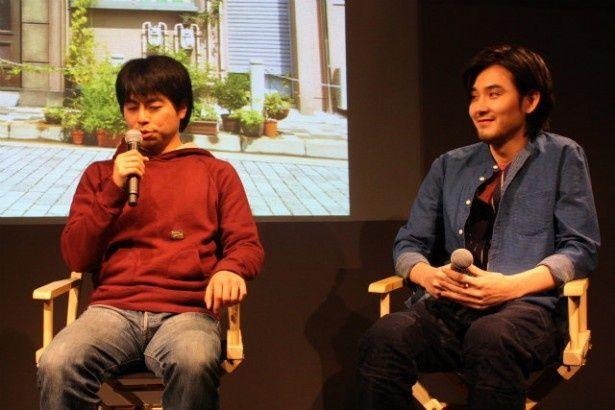 【写真を見る】ふたりそろって「宮崎あおいは良い人」と答えた