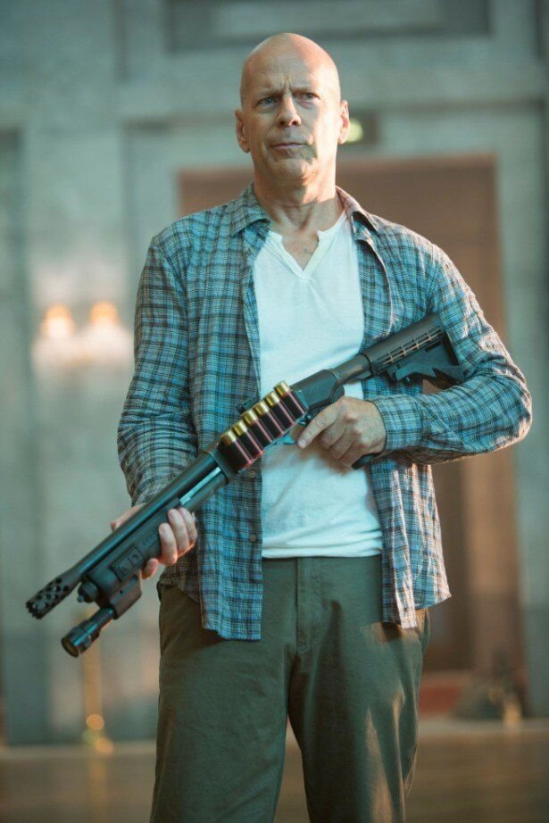 ジョン・マクレーンを演じ続けているブルース・ウィリス