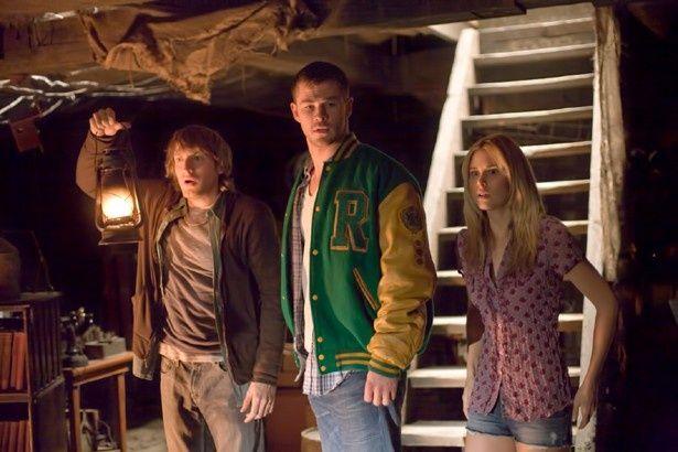 休暇を利用して森の中の山荘にやってきた5人の若者…。設定も舞台もあの映画そっくり