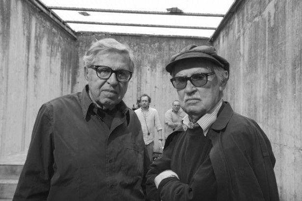 左が弟パオロ、右が兄ヴィットリオ。約50年にわたって共同で映画監督をしている