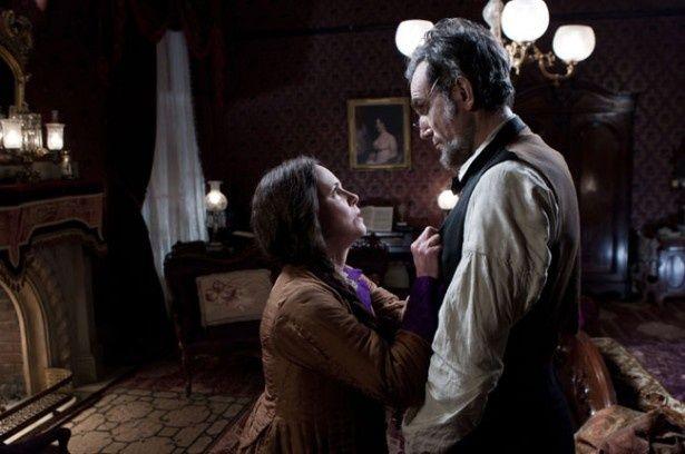 リンカーンとその妻の物語にスポットが当てられている(『リンカーン』)