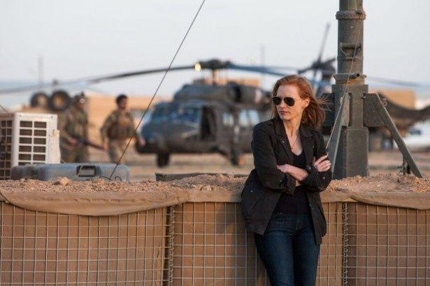 主人公の女性CIA分析官マヤを演じるのはジェシカ・チャステイン