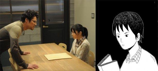 漫画家デビューを目指す主人公シズオの担当編集者・宇波綾を演じるHKT48の指原莉乃