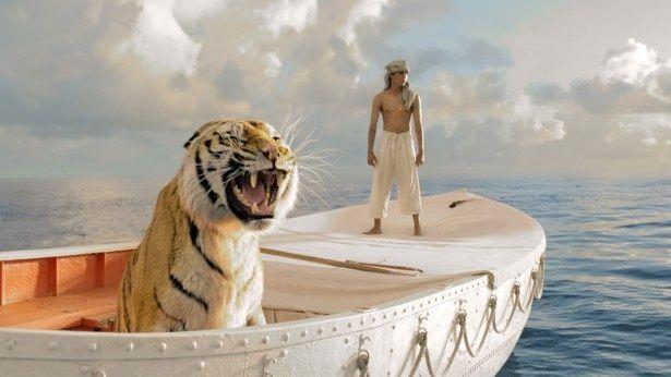 【写真を見る】アン・リー監督が初の3D作品に挑戦した『ライフ・オブ・パイ トラと漂流した227日』