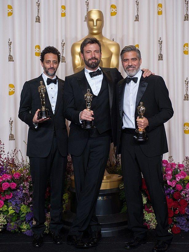 ベンが『アルゴ』で作品賞を獲るかどうかにも注目が集まった