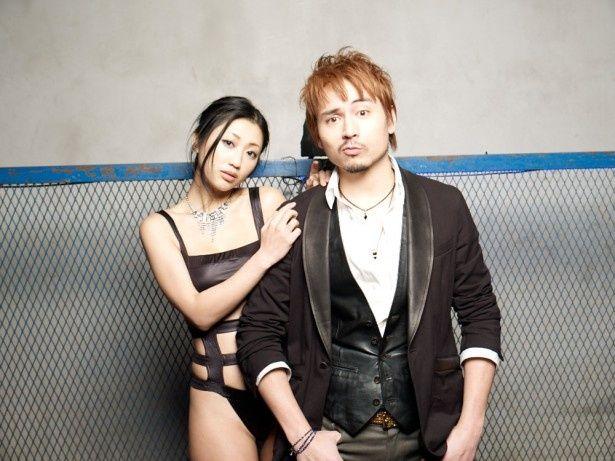 壇蜜、ミュージックビデオに初出演。妖艶な黒髪が決め手!