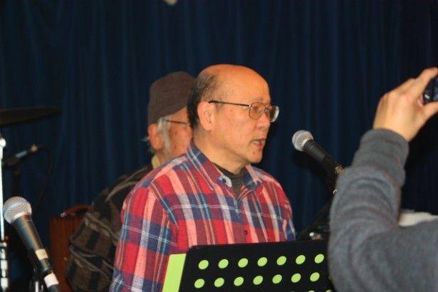原作者・岡野雄一も参加していた。岩松了はこの人になりきったわけだ