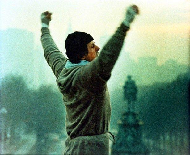 シルヴェスター・スタローンの名前を知らしめた『ロッキー』(77・初上映)