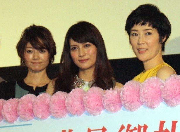 柴咲コウ、真木よう子、寺島しのぶが舞台挨拶