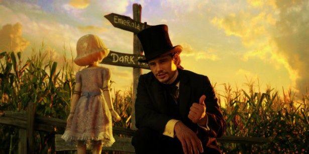 【写真を見る】ジェームズ・フランコ演じるオズが、陶器の少女とふれあうシーンが最高