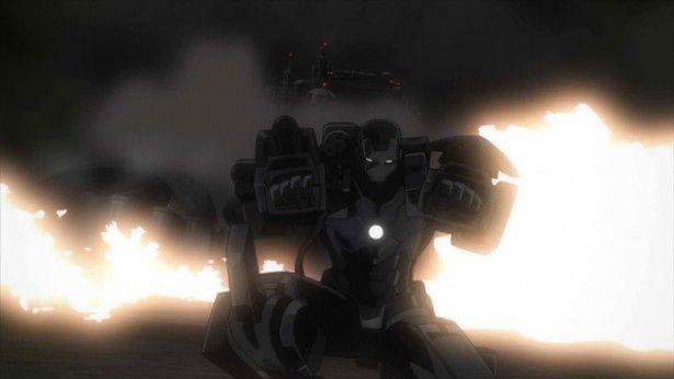 こちらはアイアンマンをベースにしたウォーマシーン