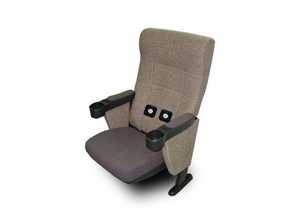 「ウィンブルシート」とは作品の音響にリンクして振動するシート。背もたれの中に仕掛けがある