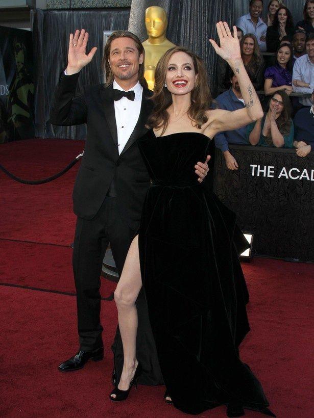 【写真を見る】かねてから結婚の噂が絶えなかったブラッド・ピットとアンジェリーナ・ジョリー