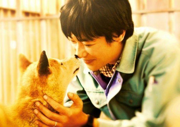 【写真を見る】堺雅人と犬の心温まる劇中シーンはこちら