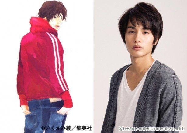 原作ファンの間で人気のキャラクター、真山稔邦を演じる中村蒼