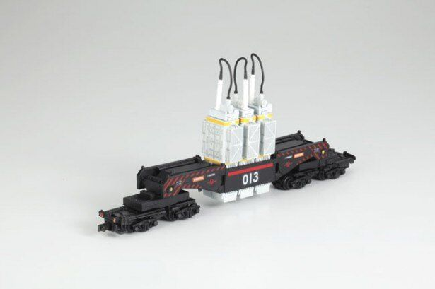 この車両の正式名称はシキ880(B2梁)形大物車