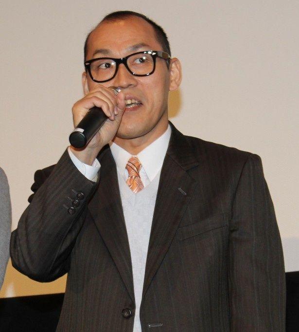 角田六郎役の山西惇は「『暇か?』という暇がなかった」と話し会場の笑いを誘った