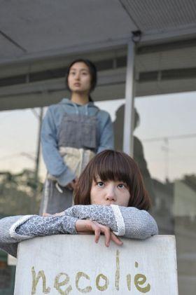 YUKIに激似な美人アーティストがスクリーンに登場!
