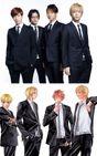 CRUDE PLAYのメンバーを演じる、左から水田航生、窪田正孝、浅香航大、三浦翔平