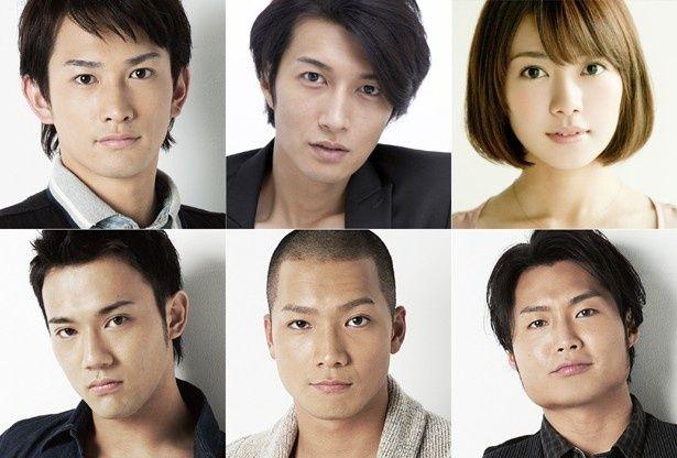 【写真を見る】劇団EXILEのメンバーに加え、ライダー俳優・天野浩成、元dreamの長谷部優らが「リング」シリーズの具現化に挑戦!