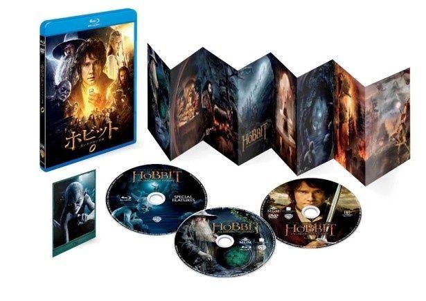 『ホビット 思いがけない冒険』ブルーレイ+DVDセット(3枚組)などいよいよ4月17日(水)発売!