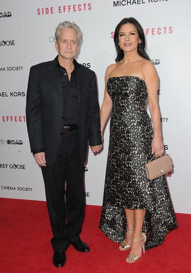 マイケルの妻キャサリン・ゼタ=ジョーンズも嫉妬しているようだ