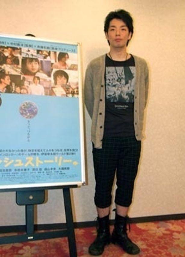 「斉藤和義さんの楽曲も素晴らしいので、エンターテインメントとして楽しんで」と森山未來が作品をアピール!