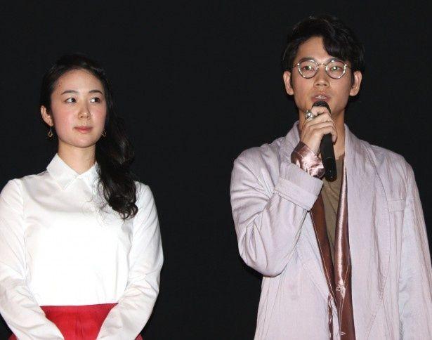 『シャニダールの花』でダブル主演を務める綾野剛と黒木華