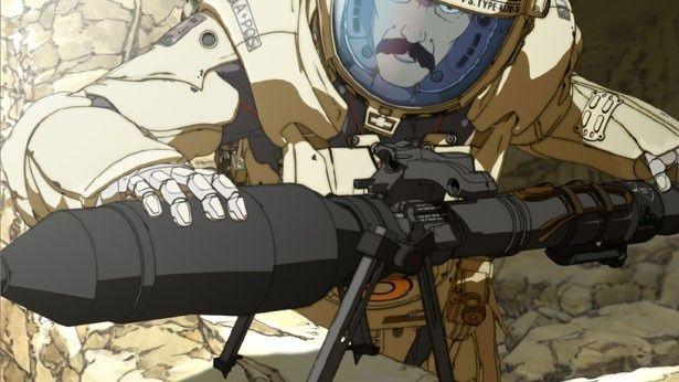 メカデザイナーとして名を馳せたカトキハジメが監督・脚本を担当した『武器よさらば』