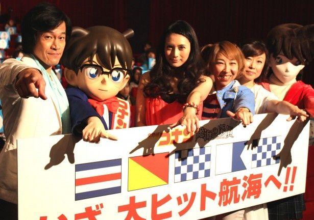 大ヒットシリーズ「名探偵コナン」劇場版最新作が封切り!