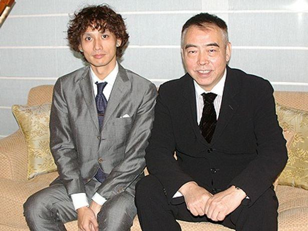 久しぶりの再会を楽しんだ安藤政信とチェン・カイコー監督