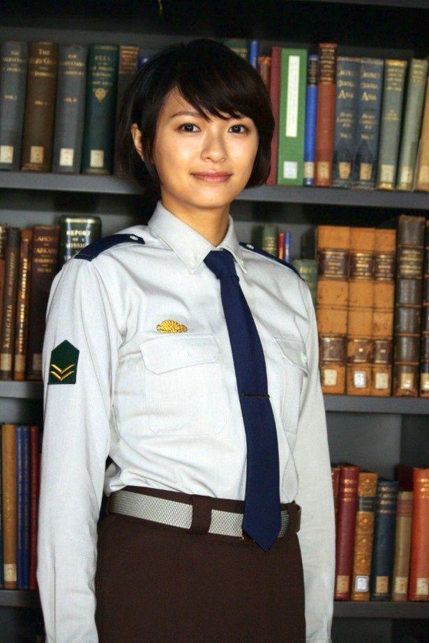 『図書館戦争』でヒロインを演じた榮倉奈々