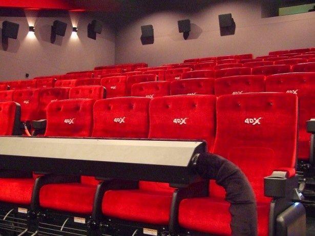 中川コロナシネマワールドに導入された日本初の体感型上映システム4DX
