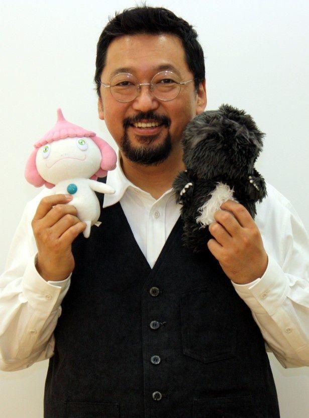 『めめめのくらげ』で初監督を務めた村上隆