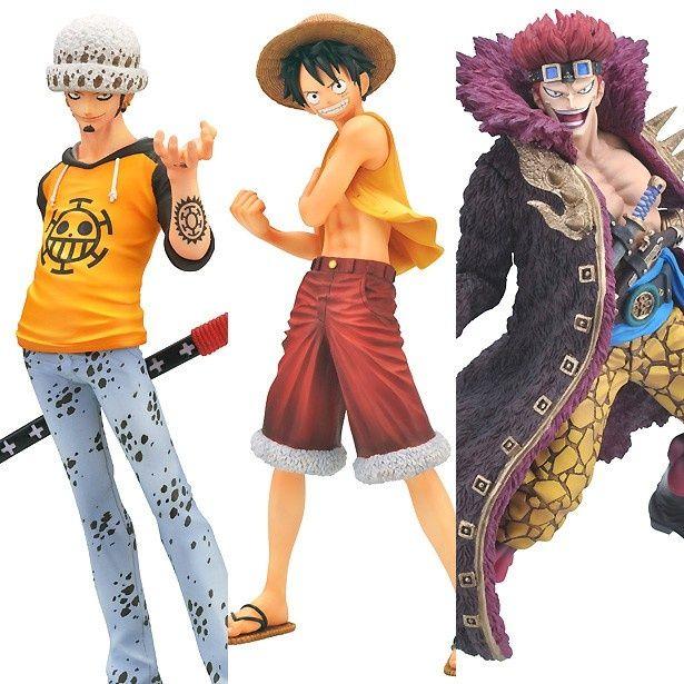 """""""新世界編""""での活躍も気になる3人の海賊がリアルなフィギュアになって登場!"""