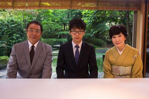 健太郎とその両親