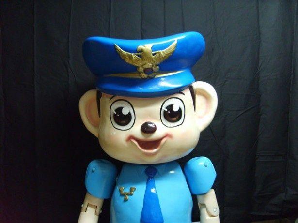 こちらが韓国警察マスコットのポドリ君。実は既に彼は過去の存在なのだ