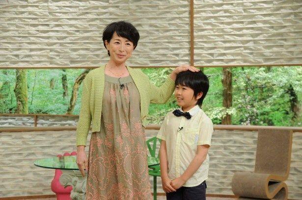 鈴木福が「サワコの朝」に出演し、阿川佐和子とトークを展開する